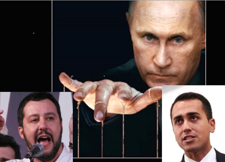 Salvini Di Maio Putin