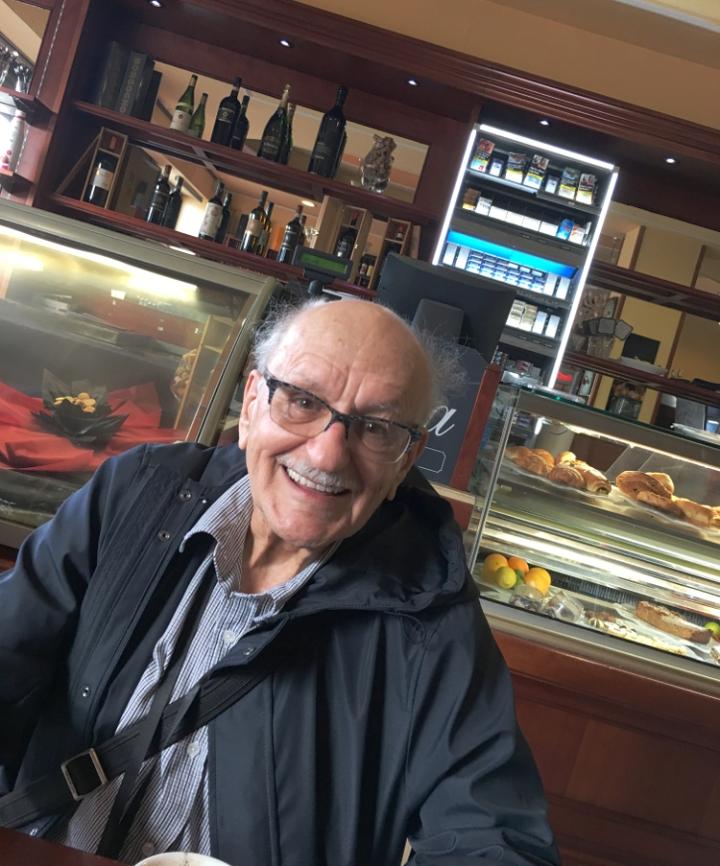 Paul Costopoulos, aka Costo: à 87 ans, il est toujours un lion